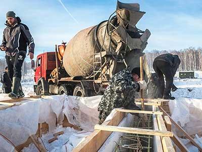 Доставка бетона Перовское шоссе