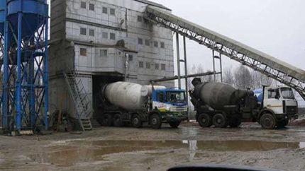 Бетон от производителя Бетонный завод в москве официальный сайт