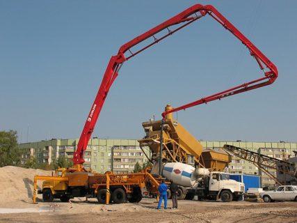 Аренда бетононасоса в Москве и Московской области