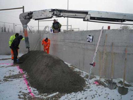 Тощий бетон в Москве с доставкой
