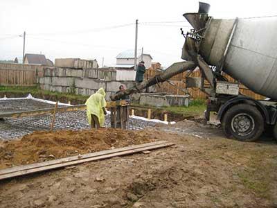 Доставка бетона Боровское шоссе